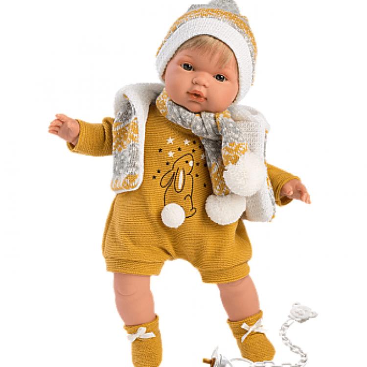 "Інтерактивна плачуча лялька ""Саша"" - image-0"