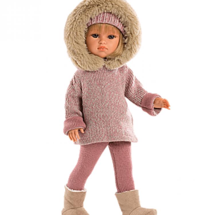 """Шарнірна лялька """"Даніела"""" в рожевому - image-0"""