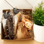"""Подарунковий набір """"Lady BOX"""". Пастила та фруктові чипси - image-0"""