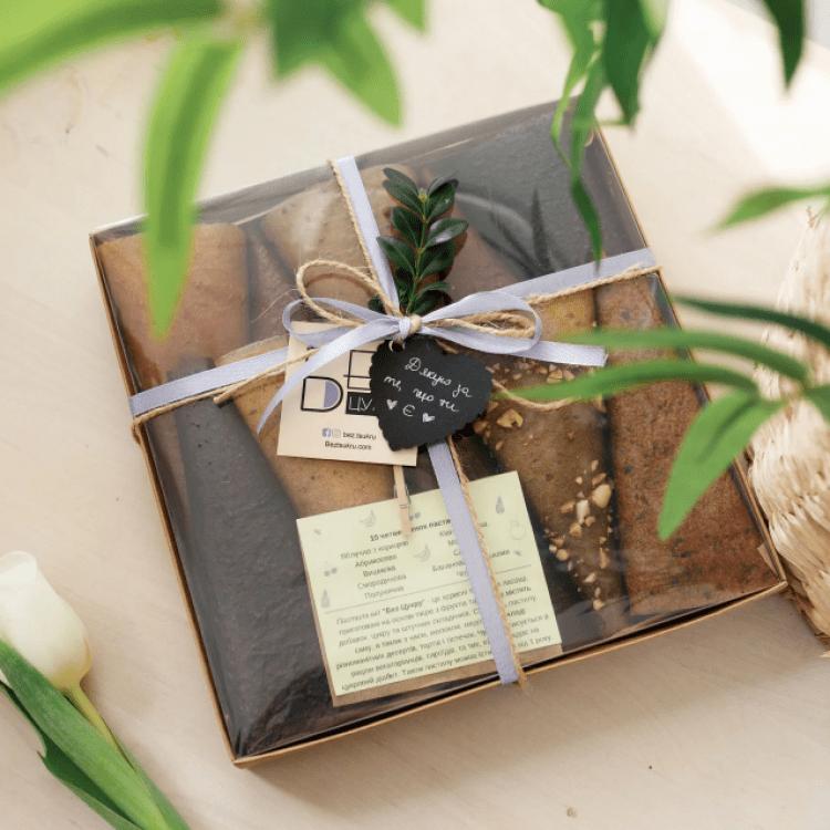 """Подарунковий набір """"КОМПЛІМЕНТ BOX S1"""". Пастила - image-0"""