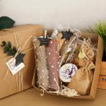 """Подарунковий набір """"МAN BOX"""". Пастила та фруктові чипси - image-0"""