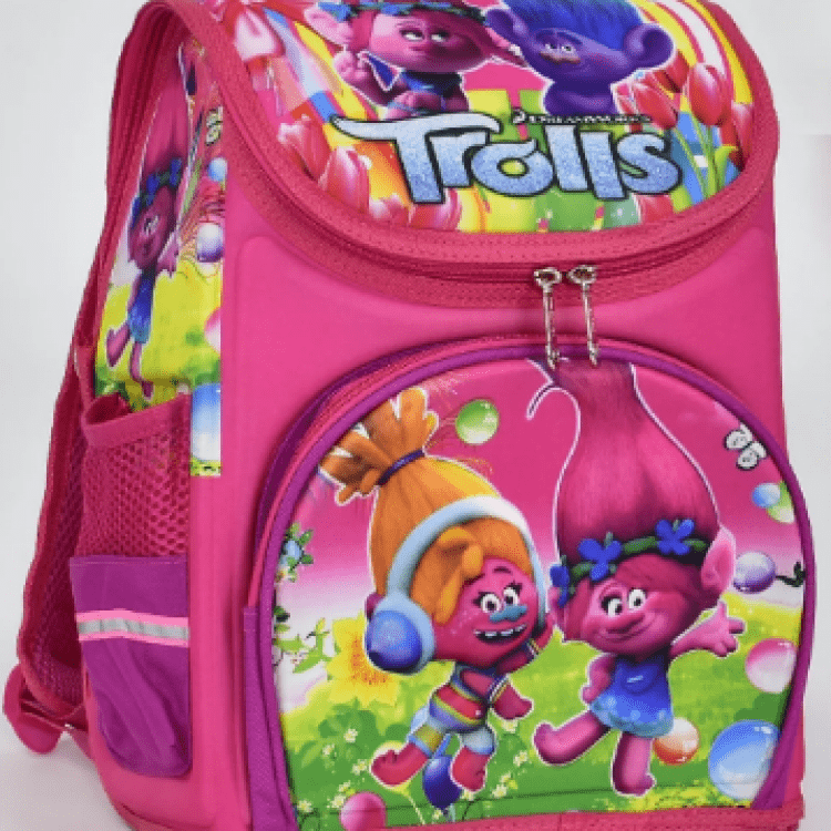 """Дитячий рюкзак """"Тролі"""" для дівчат - image-0"""