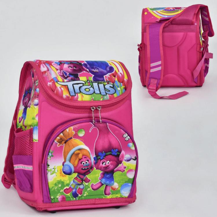 """Дитячий рюкзак """"Тролі"""" для дівчат - image-1"""