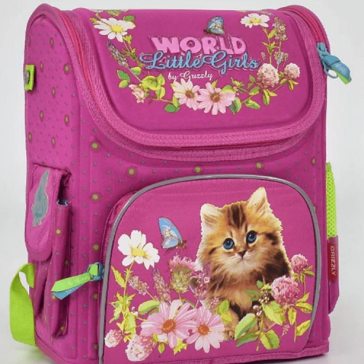 """Дитячий рюкзак """"Котик"""" для дівчат - image-0"""