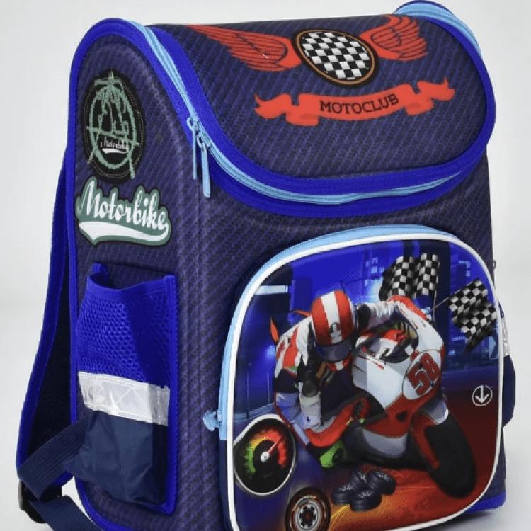 """Дитячий рюкзак """"Мотобайк"""" для хлопців - image-0"""