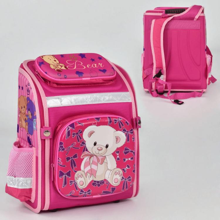 """Дитячий рюкзак """"Ведмедик 2"""" для дівчат - image-1"""
