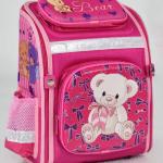 """Дитячий рюкзак """"Ведмедик 2"""" для дівчат - image-0"""