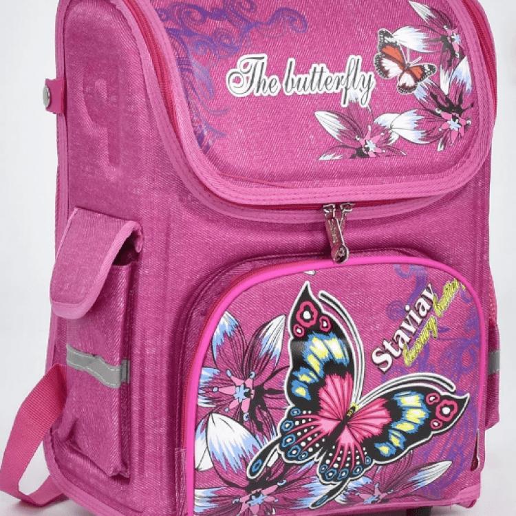 """Дитячий рюкзак """"Метелик"""" для дівчат - image-0"""