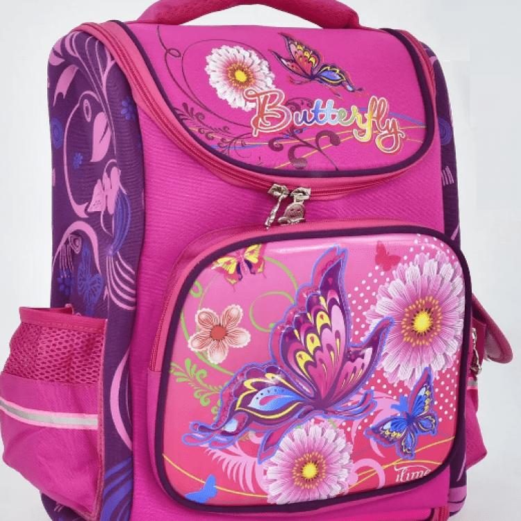 """Дитячий рюкзак """"Метелики"""" для дівчат - image-0"""