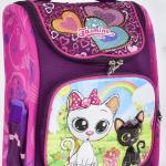 """Дитячий рюкзак """"Сова"""" для дівчат - image-0"""