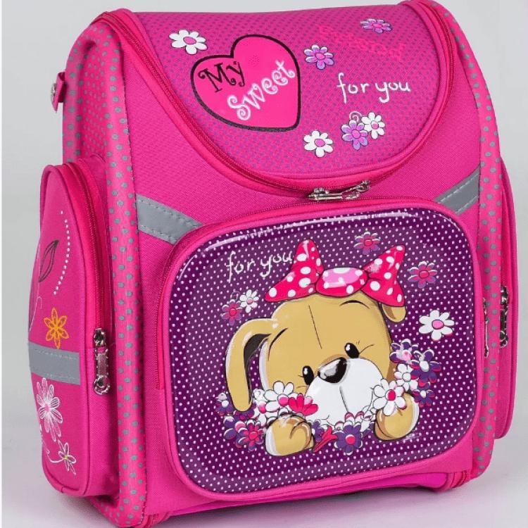 """Дитячий рюкзак """"Собачка"""" для дівчат - image-0"""