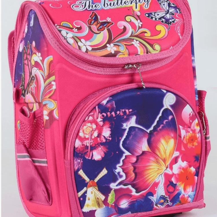 """Дитячий рюкзак """"Метелик 3"""" для дівчат - image-0"""