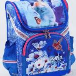 """Дитячий рюкзак """"Кошеня і метелик """" для дівчат - image-0"""