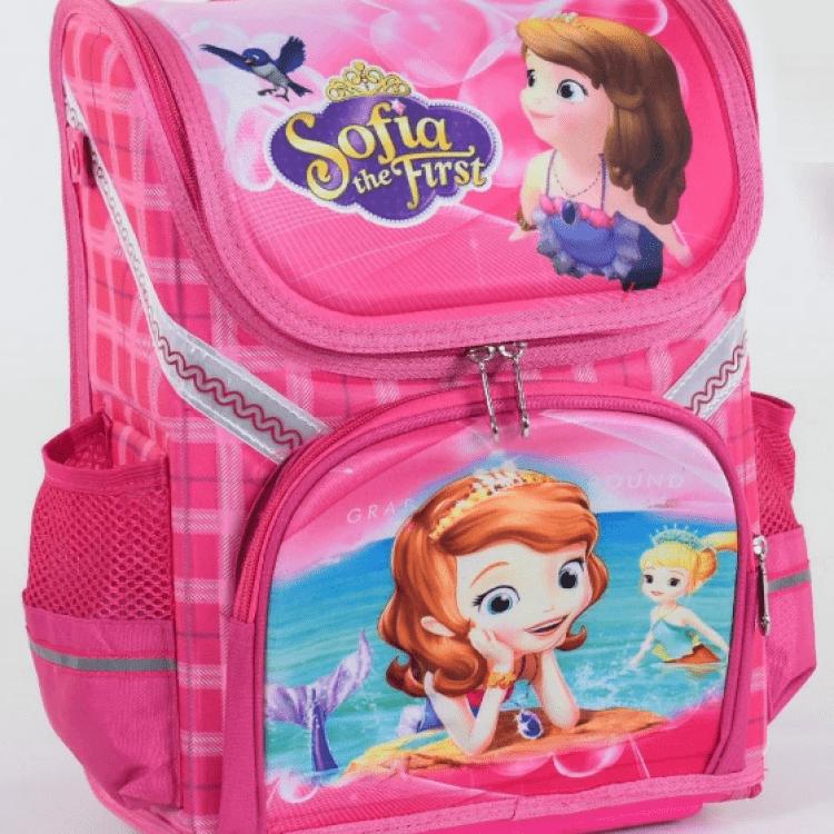 """Дитячий рюкзак """"Принцеса Софія"""" для дівчат - image-0"""