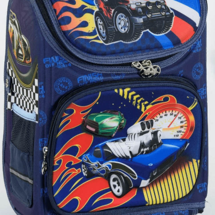 """Дитячий рюкзак """"Машини"""" для хлопців - image-0"""
