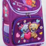 """Дитячий рюкзак """"Ведмедики"""" для дівчат - image-0"""