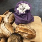 Еко-хлібниця «Льон Лавандовий» - image-0