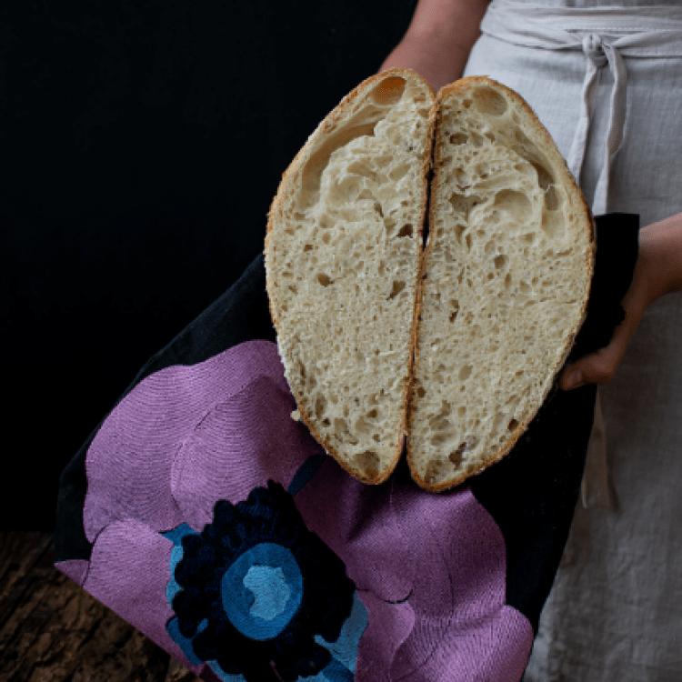 Хлібниця «Піон» (вишивка) - image-1