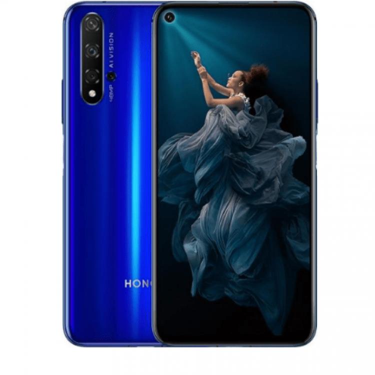 МОБІЛЬНИЙ ТЕЛЕФОН HONOR 20 6/128GB SAPPHIRE BLUE - image-0