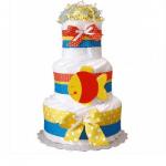 "Торт із памперсів ""Tropical Fish"" - image-0"