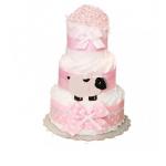 "Торт із памперсів ""Pink Sheep"" - image-0"
