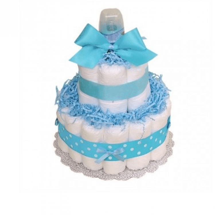 "Торт із памперсів ""Little Boy"" - image-0"