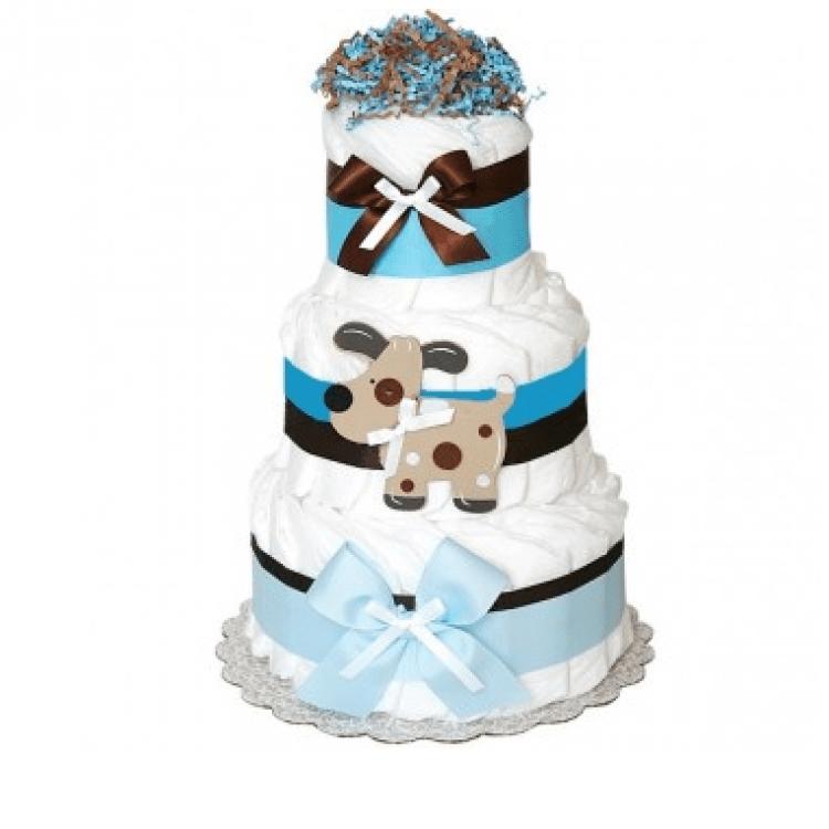 "Торт із памперсів ""Fun Puppy"" - image-0"