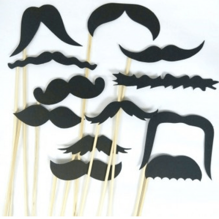 "Набір фотобутафорії ""Moustache"" - image-0"