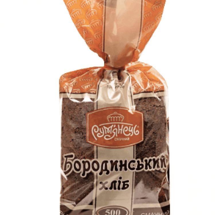 Хліб «Бородинський»  різаний - image-0
