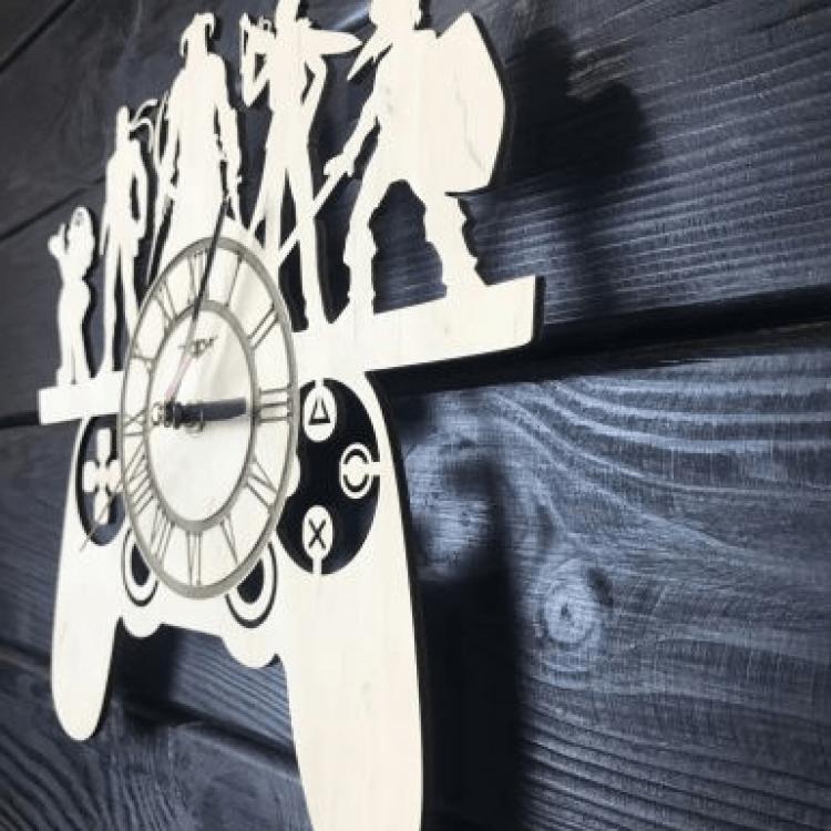 Оригінальний настінний годинник для шанувальників відеоігр - image-1