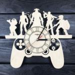 Оригінальний настінний годинник для шанувальників відеоігр - image-0
