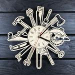 """Настінний годинник для справжніх чоловіків """"Інструменти"""" - image-0"""