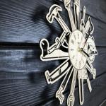 """Настінний годинник для справжніх чоловіків """"Інструменти"""" - image-1"""