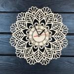 """Інтер'єрний настінний годинник """"Мандала"""" - image-0"""