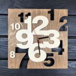 """Дерев'яний настінний годинник  """"Інтер'єрний"""" - image-0"""