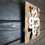 """Дерев'яний настінний годинник  """"Інтер'єрний"""" - image-1"""