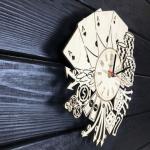 """Дерев'яний настінний годинник  """"Лас Вегас"""" - image-1"""
