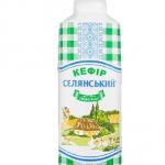 Кефір 1% жиру «Селянський», 450 г - image-0