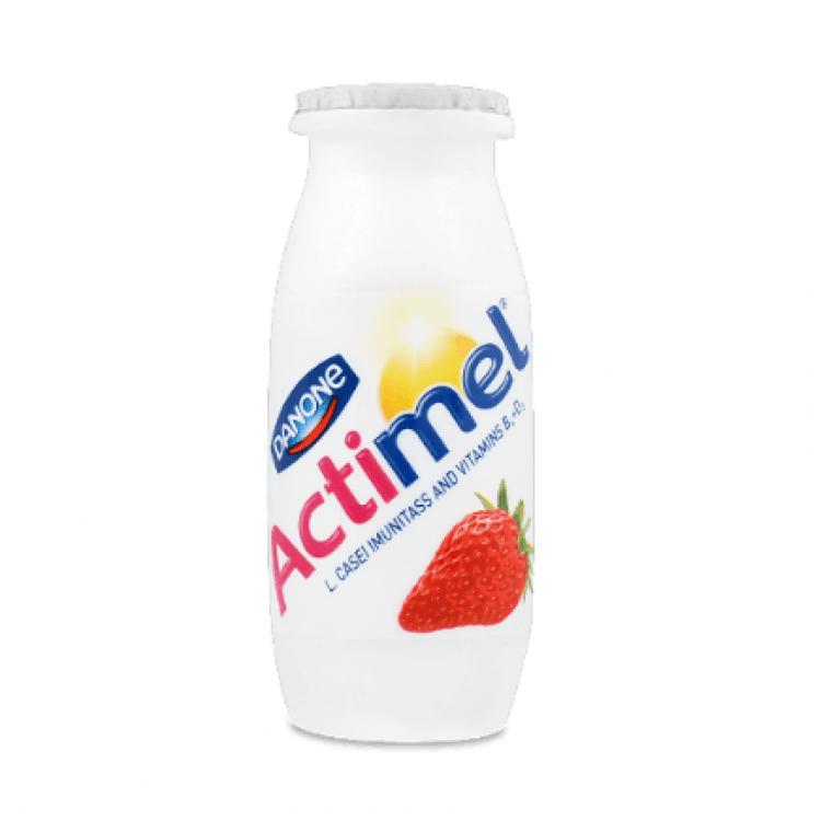 Продукт кисломолочний Actimel полуниця, 100 г - image-0