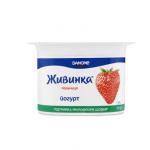 Йогурт «Живинка» полуниця, 115 г - image-0