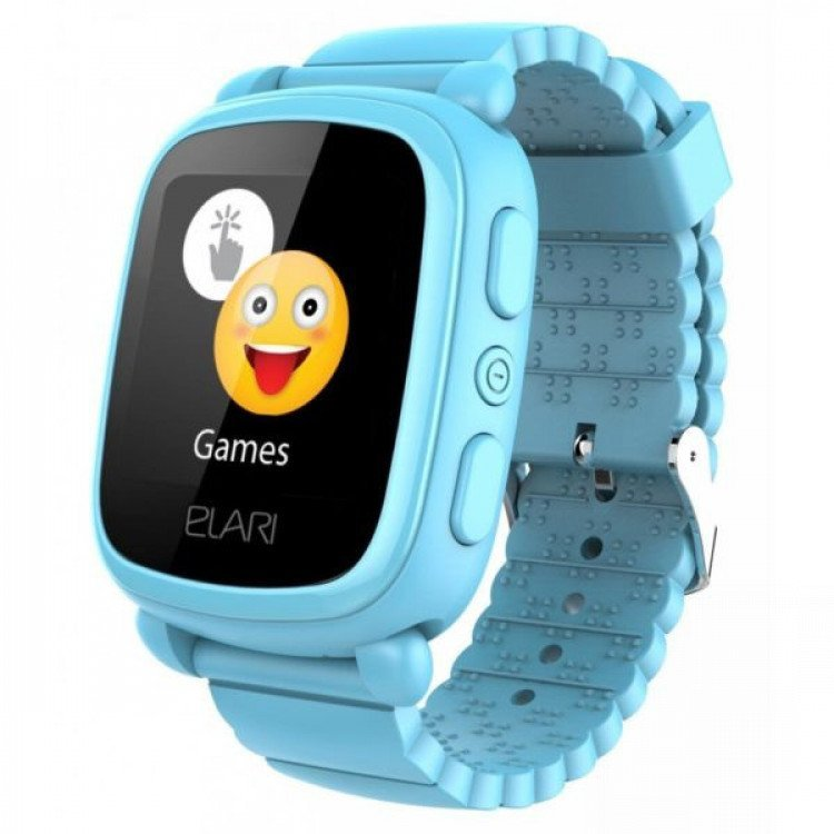 Смарт-годинник ELARI KidPhone 2 Blue (KP-2BL) - image-0