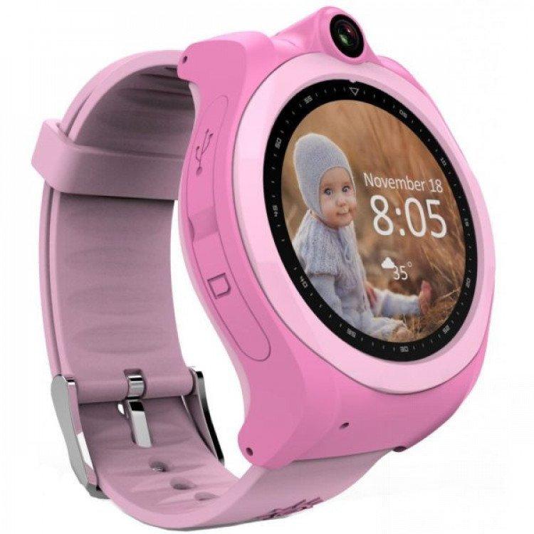 Смарт-годинник GoGPS ME K19 Рожевий (K19PK) - image-0