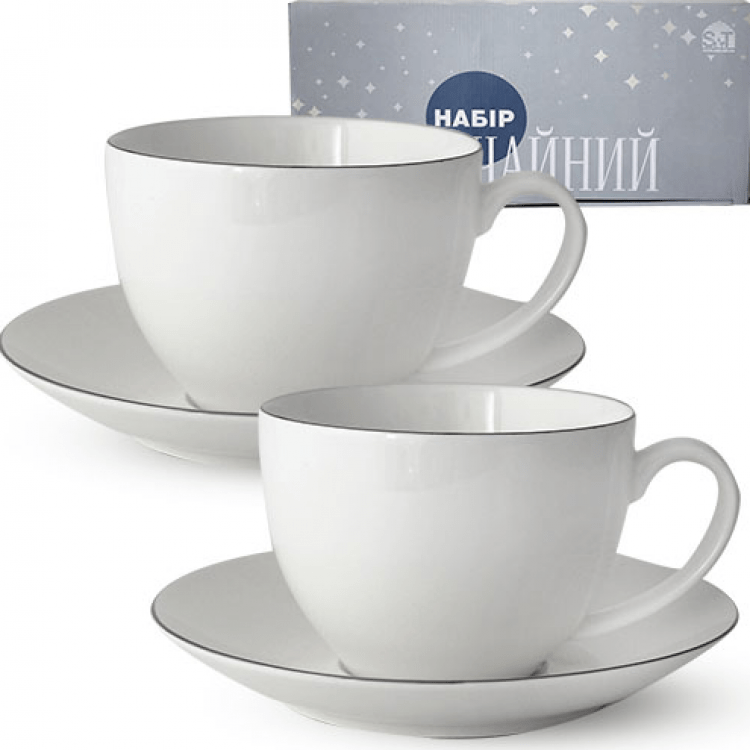"""Чайний сервіз """"Срібло"""" - image-0"""