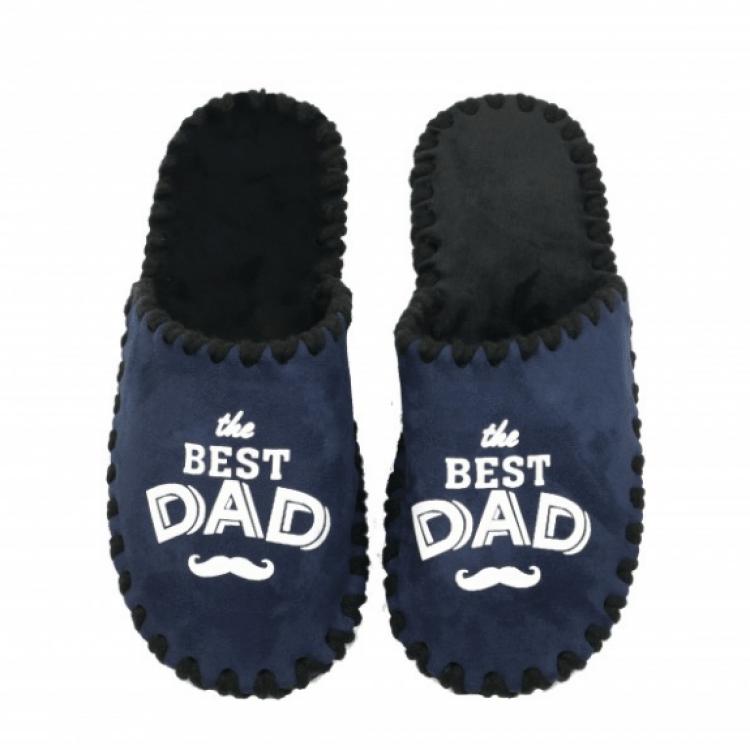 "Домашні тапки ""The best dad"" - image-0"