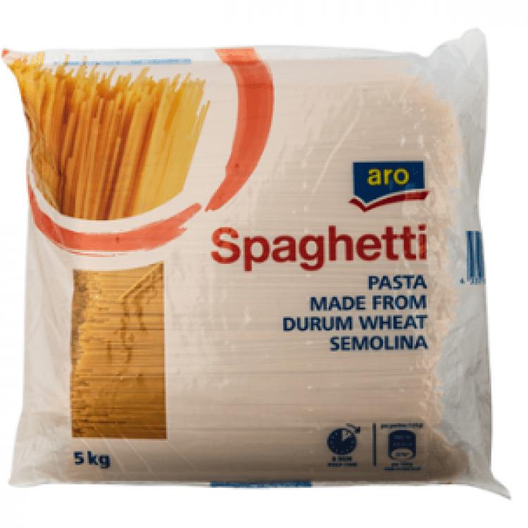 Макарони Spaghetti з твердих сортів пшениці 5кг - image-0