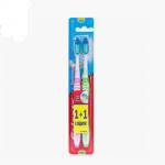 Набір щітка зубна, 1+1 шт.  середньої жорсткості - image-0