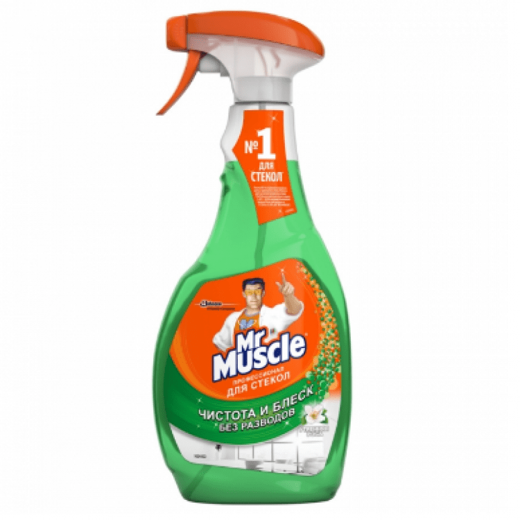 Засіб для миття скла, 0,5л - image-0