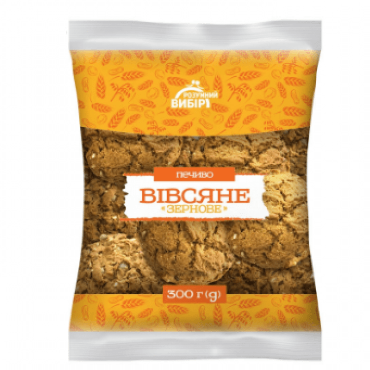 Вівсяне печиво, 300г - image-0
