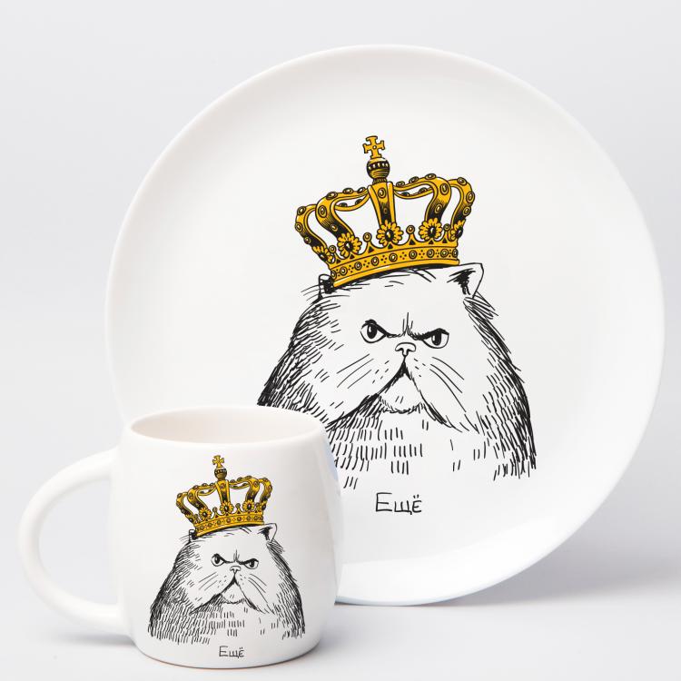 """Набір тарілок та чашок """"Королівська сім'я"""" - image-2"""