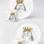 """Набір тарілок та чашок """"Королівська сім'я"""" - image-0"""